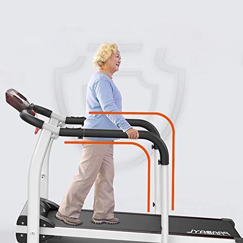 Tapis Roulant, tapis roulant elettrico pieghevole 2.0 HP Tapis roulant per la riabilitazione del motore Casa Anziani Walking Machine Fitness Esercizio Recupero degli arti Allenamento al chiuso