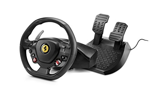 Thrustmaster T80 Ferrari 488 GTB Edition - Volante de carreras para PS4/PC, Funciona con juegos de...
