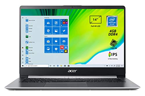Acer Swift 1 SF114-32-P25J PC Portatile, Notebook,...