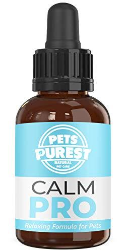 Pets Purest - Suplemento 100% Natural Calming Aid para mascotas. Reduce la ansiedad y el estrés en Sus Mascotas (50 ML)