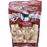 SmartBones Chicken Dog Chew, Mini, 24 pieces/pack, 14.0 OZ