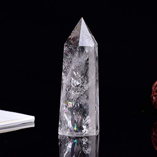 Runyangshi Natural Clear Quartz Large Crystal Healing Wands...