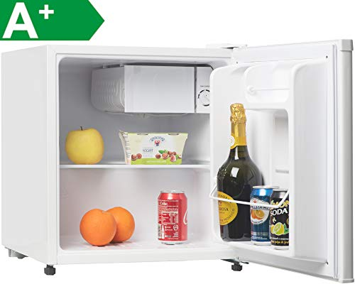 Melchioni ARTIC47LT Mini frigo bar con congelatore, A+, Silenzioso, 47L, Compressore e freezer, Frigorifero piccolo...