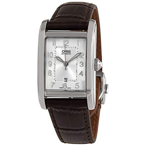 Oris Damen-Armbanduhr Rectangular Date Automatik 01561769240610781820