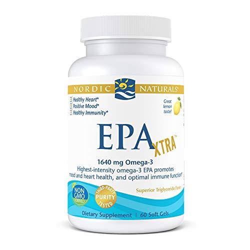 EPA Xtra, Zitrone, 1000 mg, 60 weiche Gele - Nordic Naturals