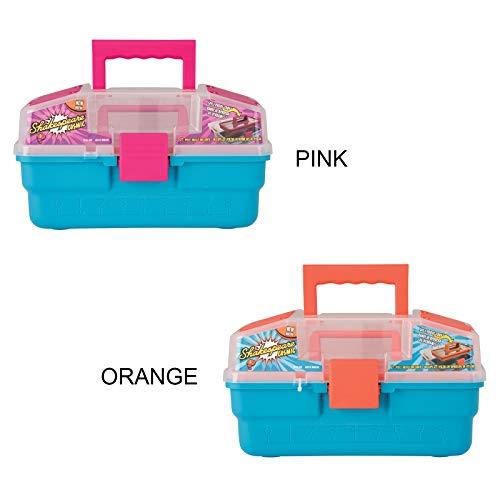 SHAKESPEARE Cassetta Cosmic Tackle Box Pesca per Bambini (Rosa)