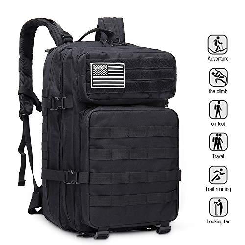Bolsa exterior para hombres EUATEO, bolsa para el desierto, tácticas militares, bolsa de asalto,...