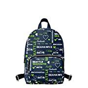 Officially Licensed Dimensions - Approximately 10 in. x 7 in. x 4 in. Volume - Approximately 5L Material - PU Leather All-over team-colored design with repeat team logo display