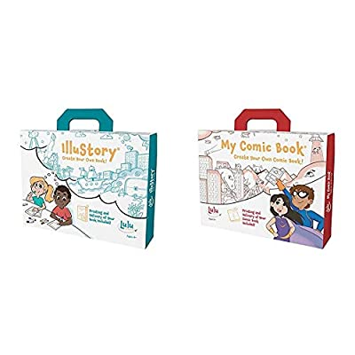 Product 1: IlluStory - Create Your Own Book! is the newest version of the award-winning bookmaking kit for children Product 1: This new version of the beloved book making kit features a new writing guide, 'Just Imagine..A Guide to Writing and Illustr...
