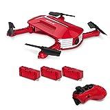 GoolRC Drone con cámara, T37 Mini 2.4G 6 Axis Gyro WiFi FPV 720P Cámara HD Quadcopter, Sensor de...