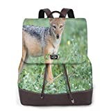 Yuanmeiju Womens Backpack Purse Tropical Exotic Flamingo Pink Bird Shoulder Daypack Leather Laptop Bag Girls