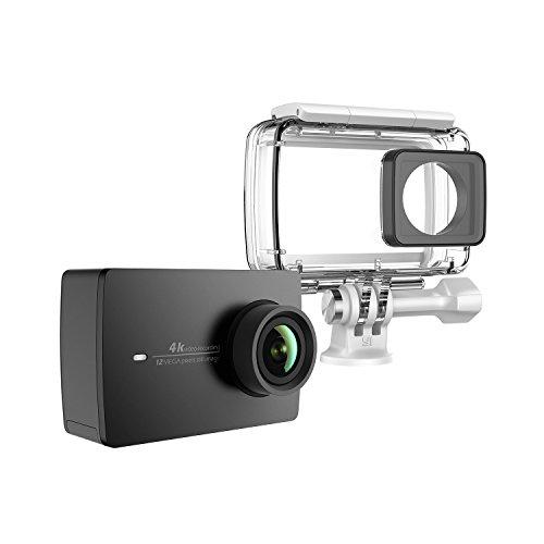 Yi 4K BK + WP Fotocamera di azione e di sport 4K/30fps Wi-Fi Nero