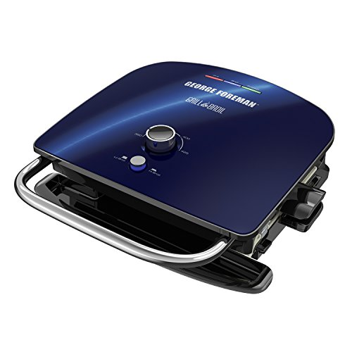 George Foreman GBR5750SCBQ Grill & Broil 7-in-1...