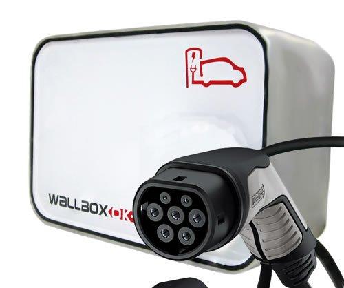 New Wallbox Punto de recarga coche eléctrico, Tipo 2, 16A 230V Monofásico
