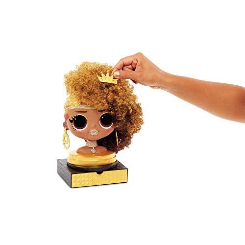 Image 6 - LOL Surprise Tête à coiffer OMG avec perruques aux coiffures infinies - 30 surprises et accessoires - Royal Bee
