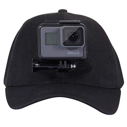 O RLY Cappellino da Baseball cap J-Hook Mount per GoPro Hero 4 5 6 7Black 8 SJCAM CamPark/AKASO/APEMAN Sport Action Camera Mount Accessories