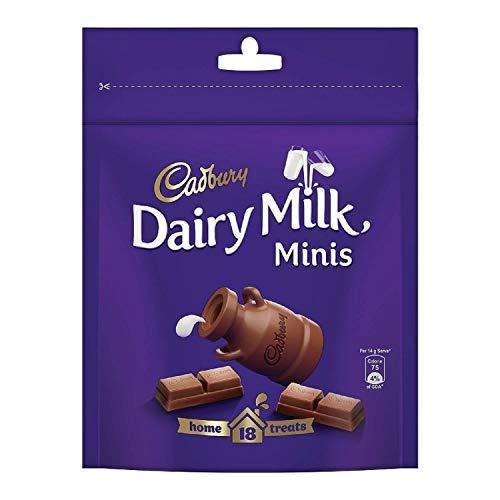 Cadbury Dairy Milk Chocolate Home Treats Pack, 126 g