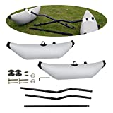 HAN XIU Kayak Inflatable Outrigger Canoe Standing Float Stabilizer,Fishing Boat Standing Float Stabilizer System Accessory for Canoe Boat