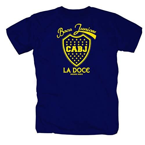 Boca Juniors Barra Bravas Argentina Ultras Ultra Camicia Maglietta Shirt Polo T-Shirt M