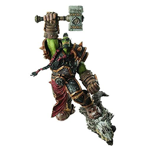 YIGEYI Action Figur World of Warcraft: Premium-Serie 2: Orc Warchief: Thrall Action Figure 10.2 Zoll...