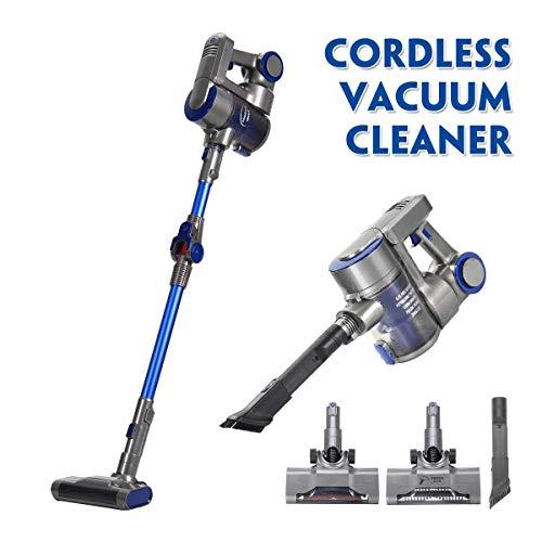 KingSo Vacuum Cleaner Cordless, 2 in 1 Upright Handheld Stick Vacuum