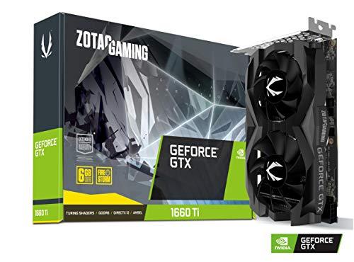 Zotac Nvidia GTX1660Ti - Ventola doppia 6 G 34