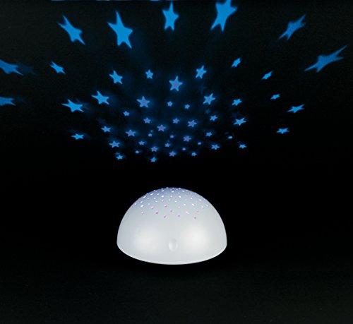 Creative Motion - Proyector de Estrellas, Funciona con Pilas, Color Blanco