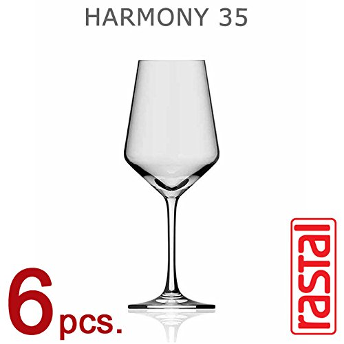 Collezione HARMONY - set n 6 Calici da Degustazione Universale H 35 - Capacit 35 cl - RASTAL