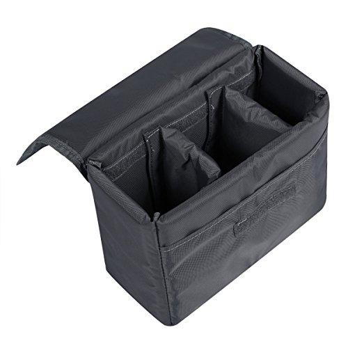 S-ZONE Water Resistant DSLR SLR Camera Insert Bag Inner Case Bag(Large)