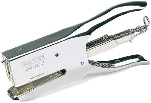 Rapid Classic K1 Cucitrice a Pinza , Compatibile con i Punti Metallici 24/6 e 24/8 mm, Capacit 50 Fogli, Metallo, Cromo, 10510601