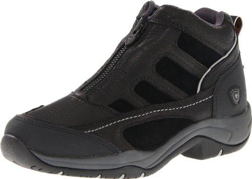 Ariat Women's Terrain Zip H2O Hiking Boot, Black,6.5 B US