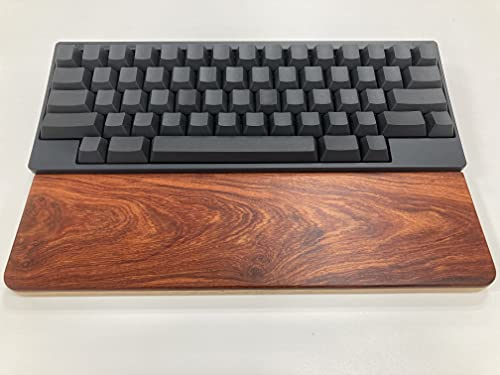 HHKB Professional HYBRID Type-S Unmarked / Ink (English Layout), Wood Palm Rest Set (Rosewood)