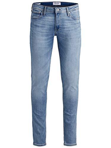 JACK & JONES Jjiliam Jjoriginal Am 792 50sps Noos Jeans Skinny, Bleu Foncã, 30W / 30L Uomo