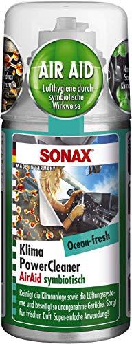 SONAX KlimaPowerCleaner AirAid symbiotisch Ocean-Fresh (100 ml) sorgt...