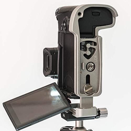 Stabil LCR : L プレート (ブラケット) Canon EOS-R カメラ : アーミーバージョン。