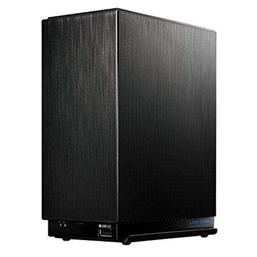 I-ODATA NAS 4TB RAID 1(ミラーリング)/デュアルコアCPU/高速モデル/2ドライブ/3年保証/日本製HDL2-AA4
