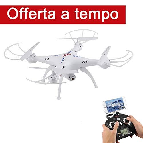 SMYA X5SW-1 Drone con Telecamera WIFI 0.3 MP 2.4GHz 4CH 6 Axis Gyro RC Quadricottero FPV -...