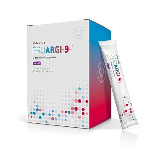 4 Boxes of Proargi9 Plus (Grape Flavor) 30 Single Serving Packets