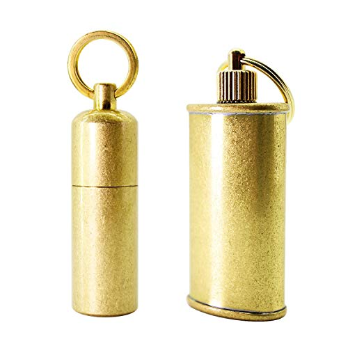 PPFISH Mini Brass Lighter - EDC Peanut...