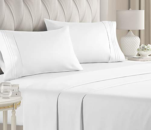 GCK Unlimited Luxury Hotel Bed Sheets (QUEEN) - Extra Soft, Deep Pockets, All Colors & Sizes