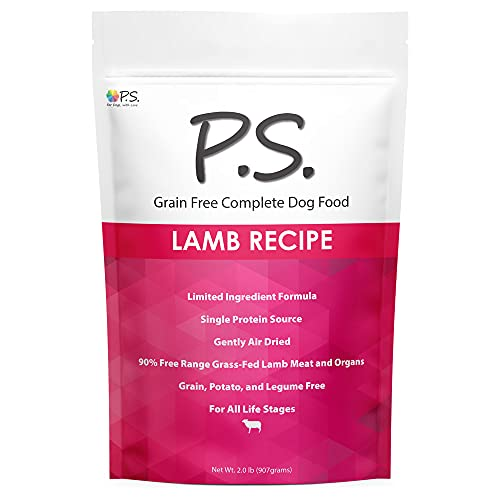 Ps for Dogs 100% Hypoallergenic Dog Food - No More...