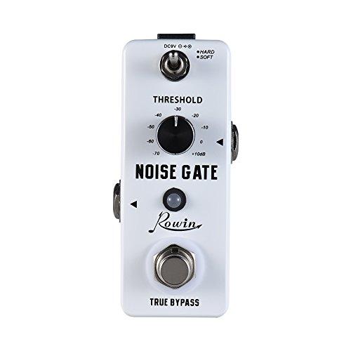 Rowin Noise Gate Noise Reduction Guitar Effect Pedal 2 Modes Aluminum Alloy Shell True Bypass