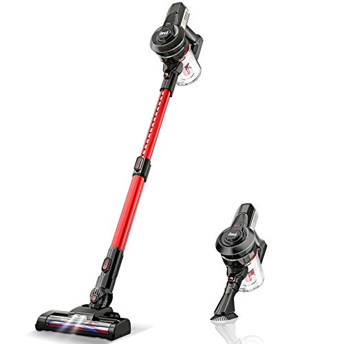 Cordless Vacuum Cleaner Handy and Extendable, Lightweight Quiet...