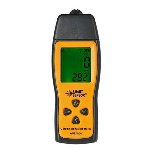 SMART SENSOR AS8700A Hand Kohlenmonoxid Meter Hohe Präzision Digital CO Lecksucher Analyzer Bereich 1000ppm