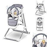 Lionelo Niles 2en1 chaise haute bebe et balancelle bebe fonctionnement...