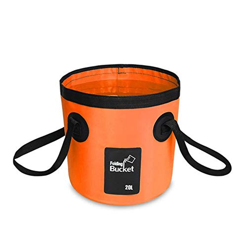 Folding Bucket, Outdoor Folding Bowl, Washing Bowl, Camping Fishing Party Garden, Can Be Used As A Foldable Washing...
