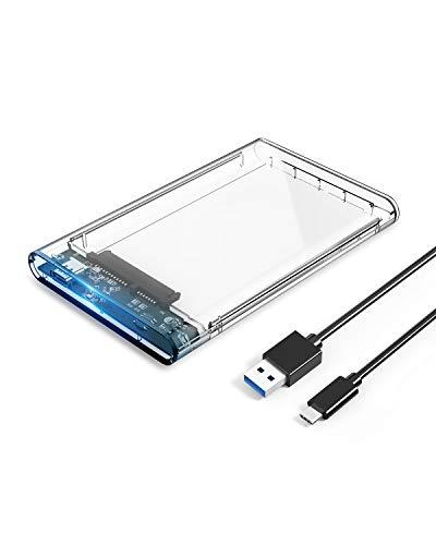 ORICO Strumento Free USB3.1 Gen1 Tipo-C a SATA III da 2,5'Contenitore per Disco Rigido Esterno da...