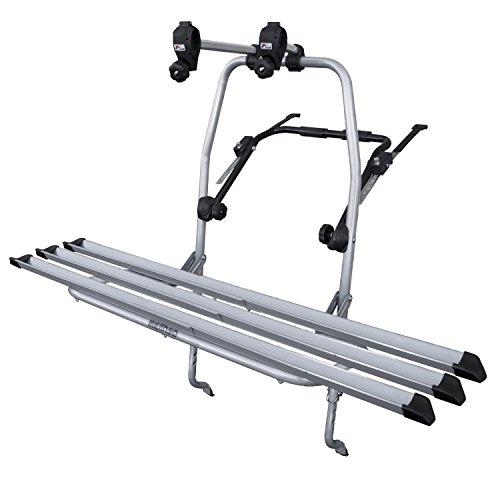 Menabo 000039200000 LOGIC 3 - Portabici posteriore per 3 biciclette, Fissaggio meccanico, Max 45 kg
