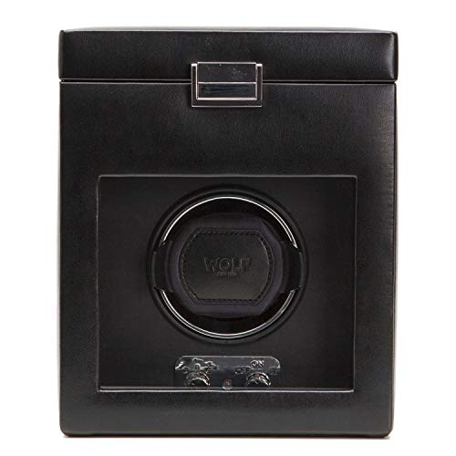 270302 Heritage Collection 2.1 Single Watch Winder with Cover and Storage