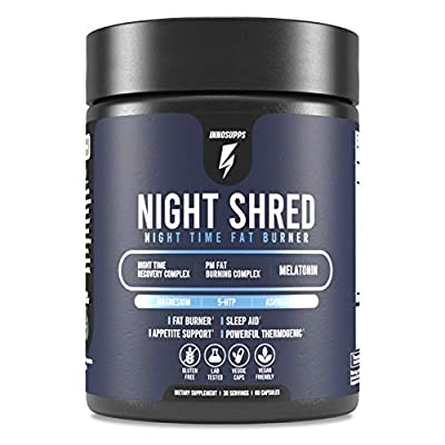 Burn Fat and Boost The Metabolism at Night Time - Night Shred is designed to prime the body to achieve deep sleep while boosting the metabolism simultaneously. Each serving contains several cutting edge ingredients that help burn fat from every angle...